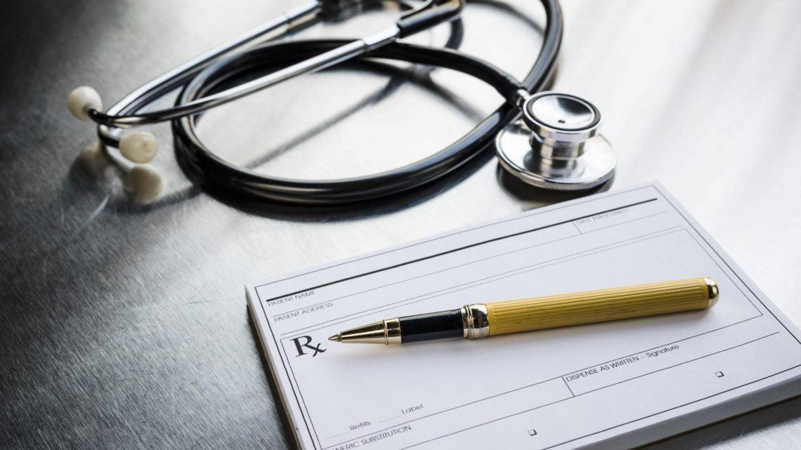 prescription pad doctor