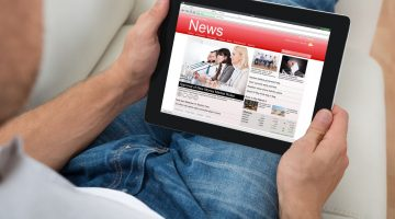 man ipad laptop technology news