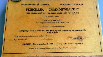very old penicillin from RUM