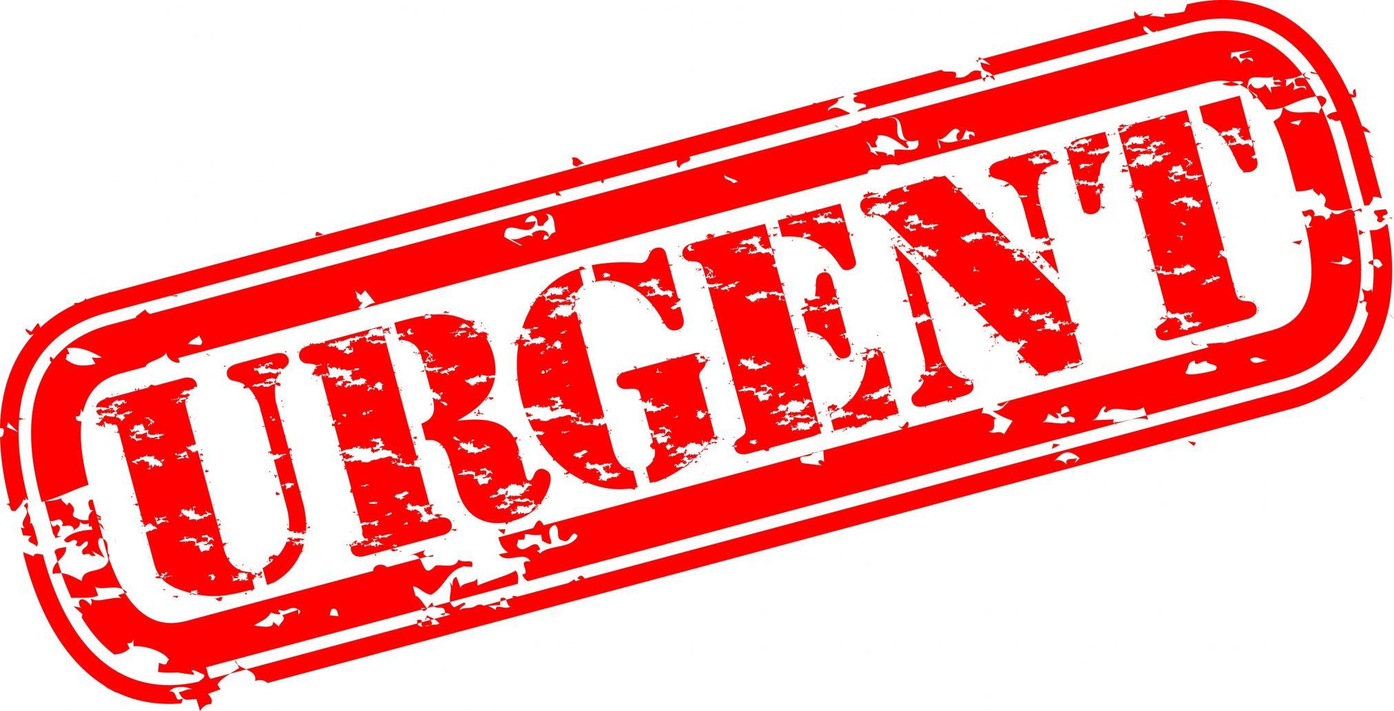 urgent recall