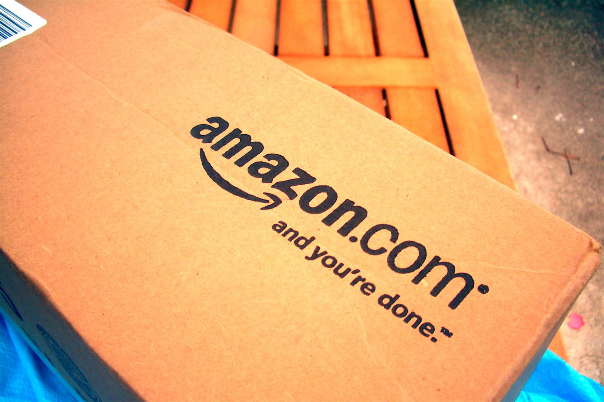 amazon box Photo credit: Mike Seyfang. https://www.flickr.com/photos/mikeblogs/