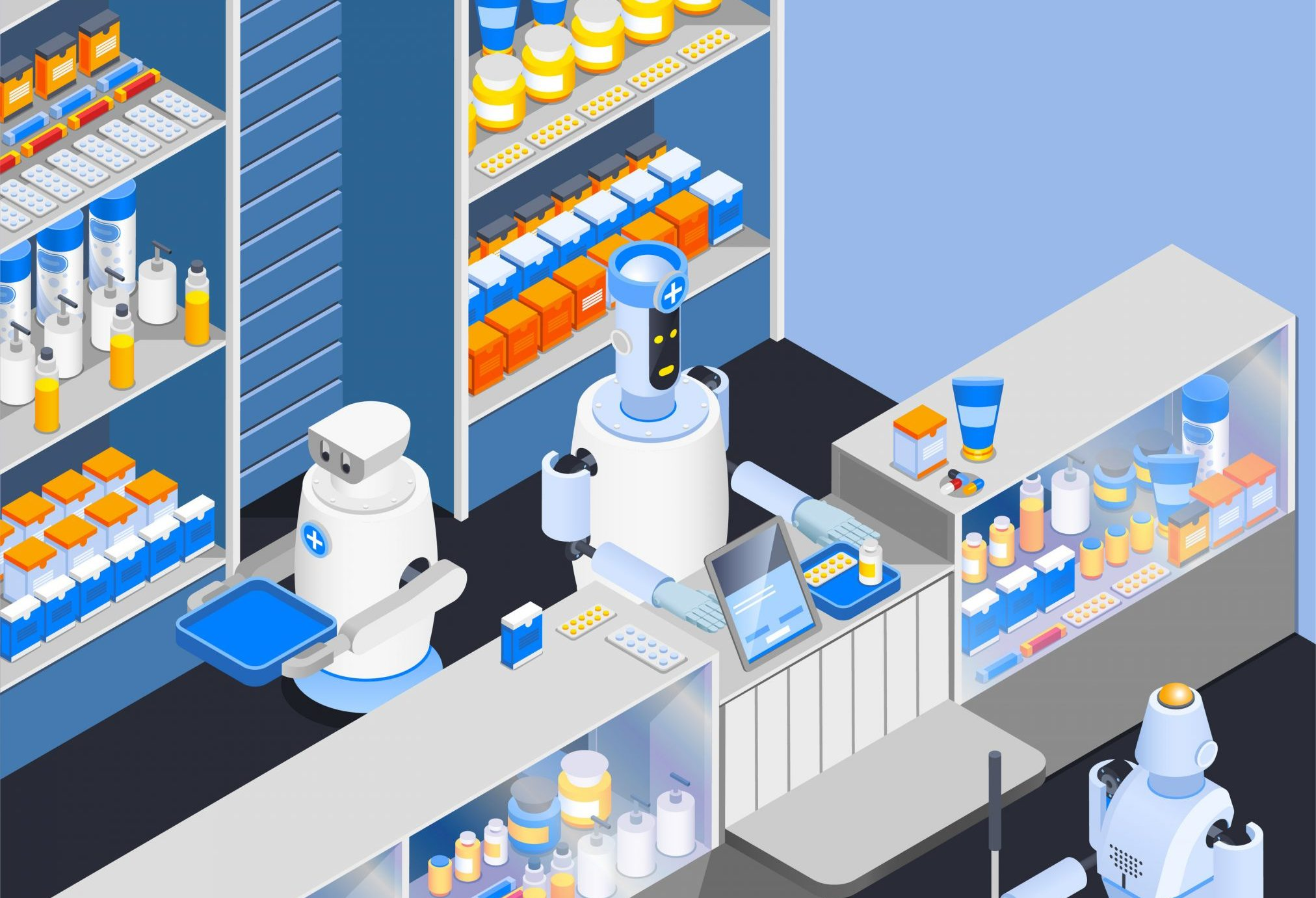 robot pharmacy pharmacist