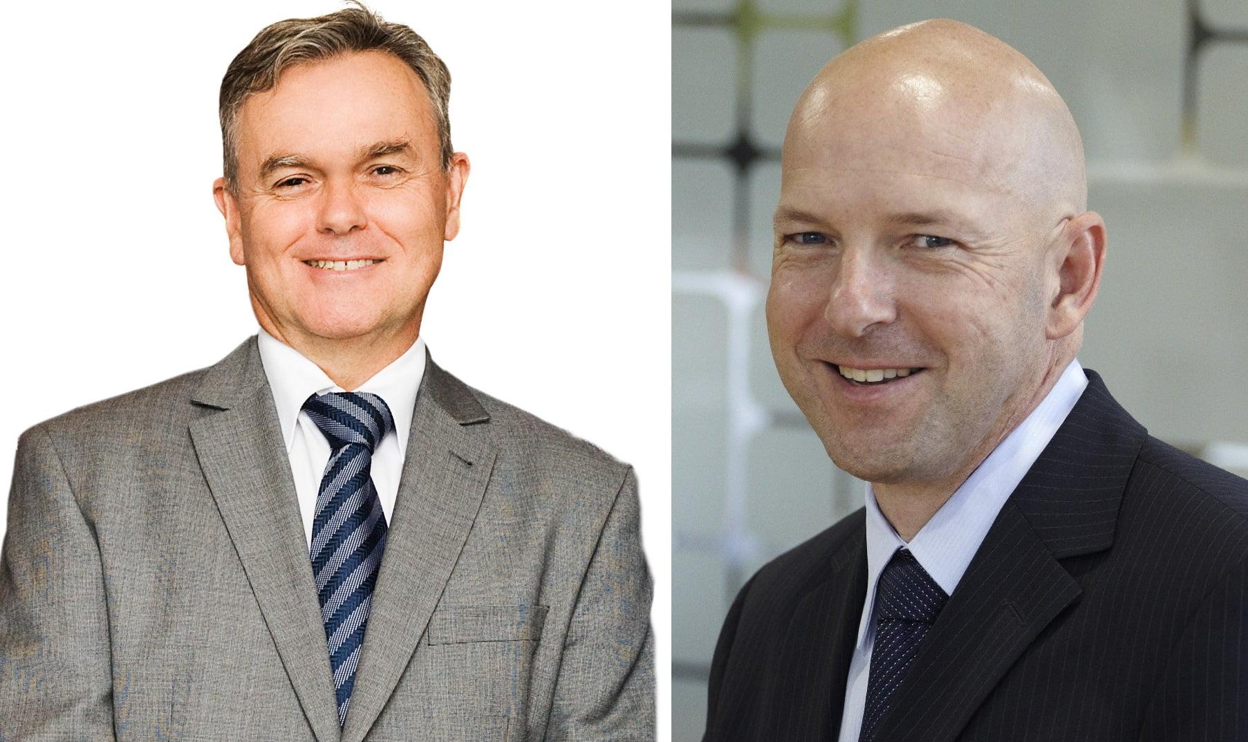 L: Dean Schulze, R: Paul Naismith