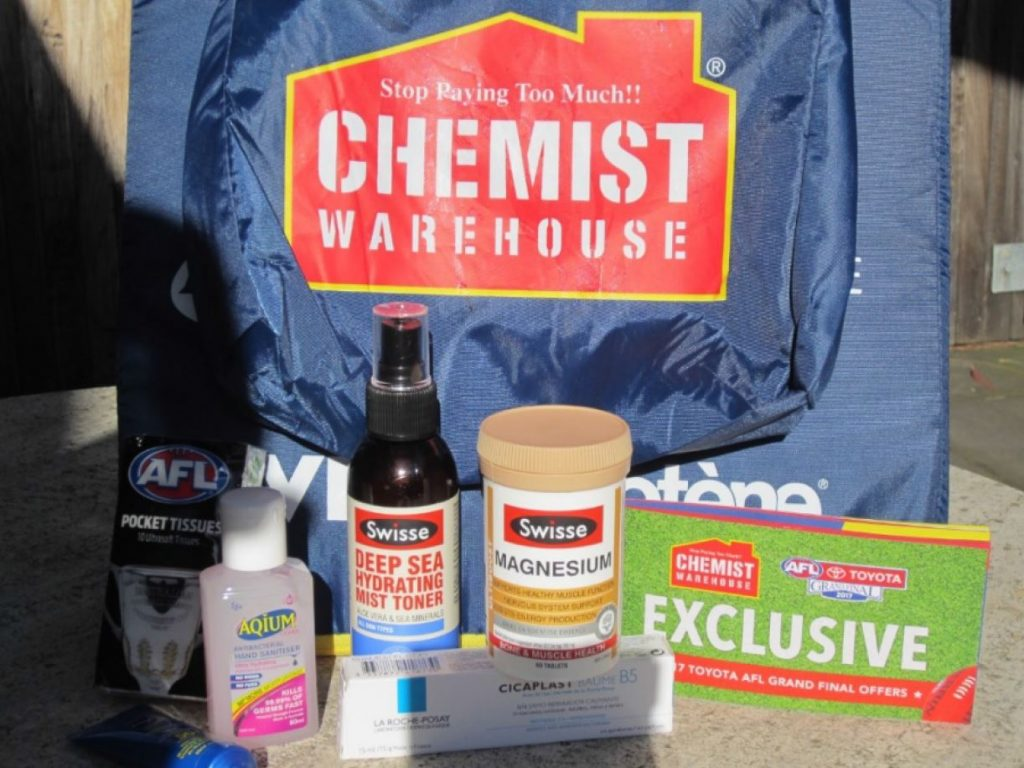 Contents of the sample bag. Source: Ken Harvey.