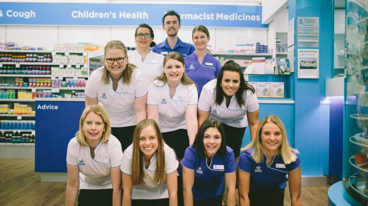 The Capital Chemist Wanniassa team.