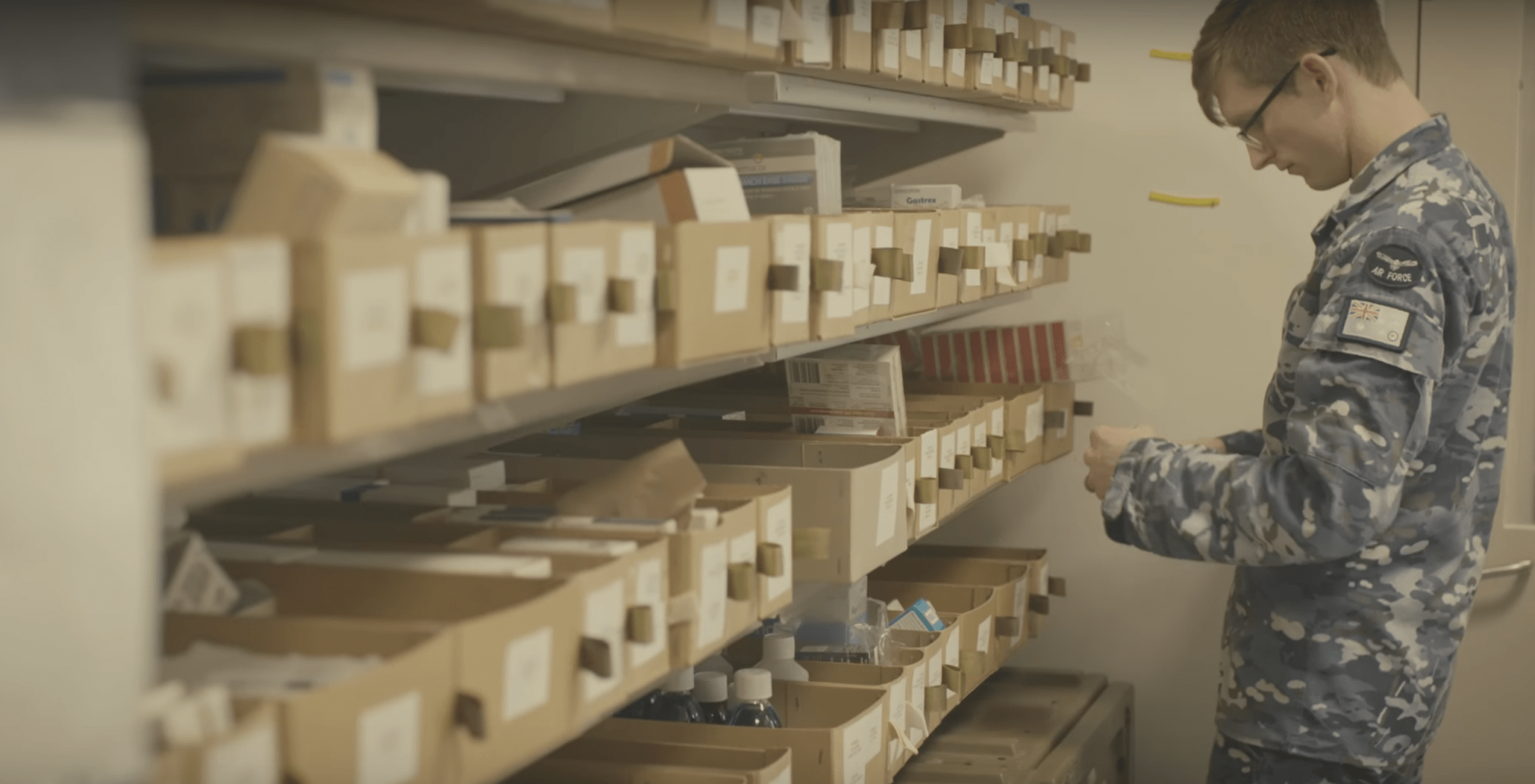 A pharmacist in the Australian Air Force. Source: Australian Defence Force.