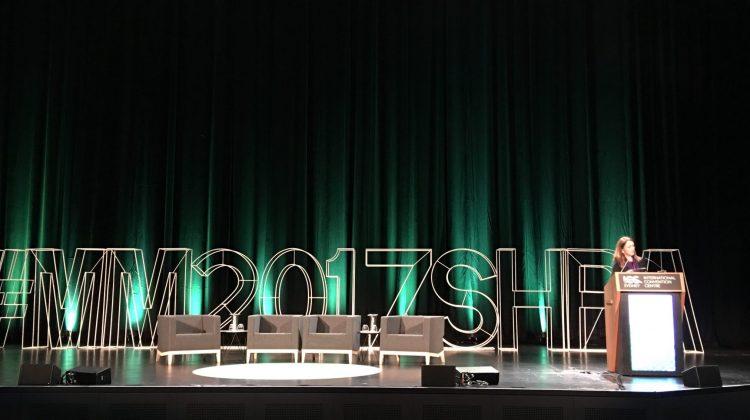 SHPA CEO Kristin Michaels addresses delegates at MM2017SHPA.