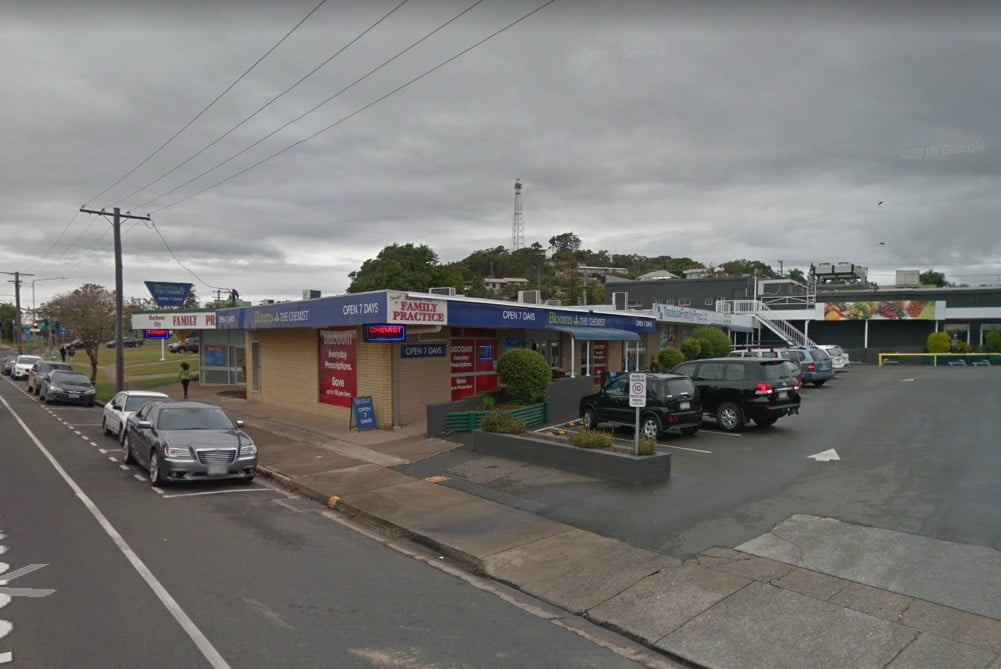 Blooms the Chemist in South Gladstone. Image: Google