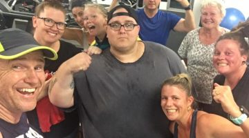 Bundaberg Weight Loss Challenge participants. Image: G'Day Fitness, via Facebook