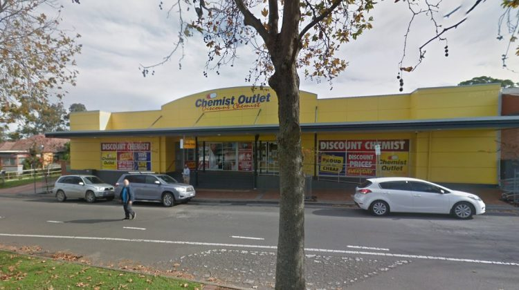 Chemist Outlet's Nowra Lane store. Image: Google