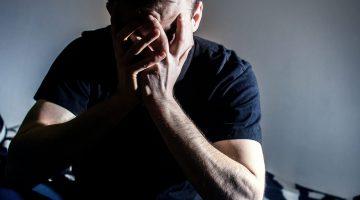 depressed man mental health depression anxiety PTSD