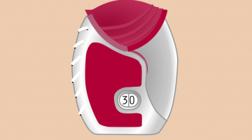 Illustration of an Ellipta inhaler device created by the Interactive Content team at the University of Edinburgh for Chest Heart and Stroke Scotland (CHSS). https://www.flickr.com/photos/interactive-content/33763258421