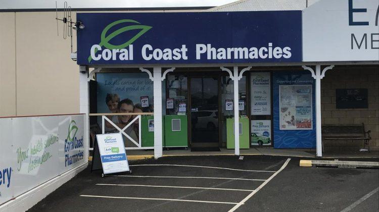 Coral Coast 2 pharmacy shopfront
