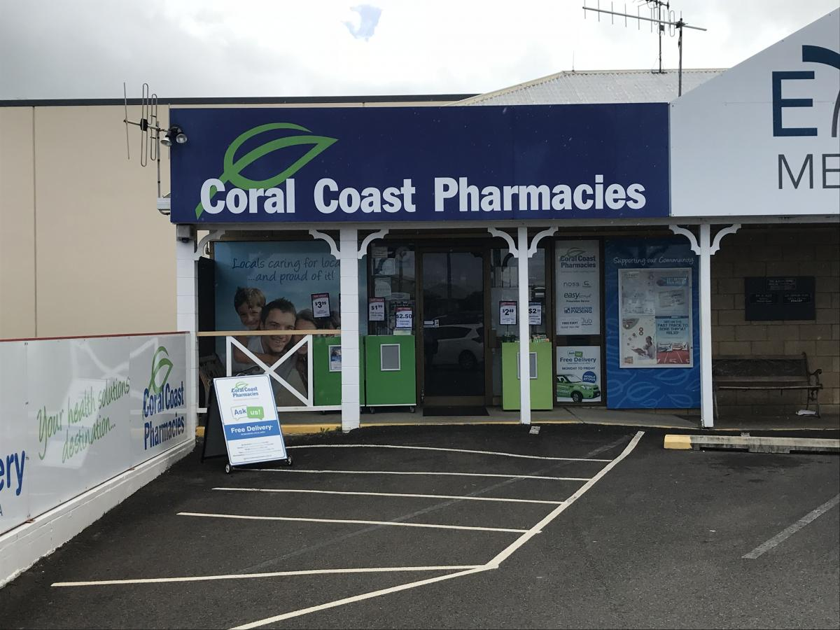 Coral Coast 2 pharmacy shopfront