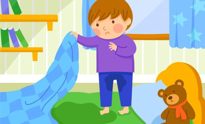 children child bedwetting