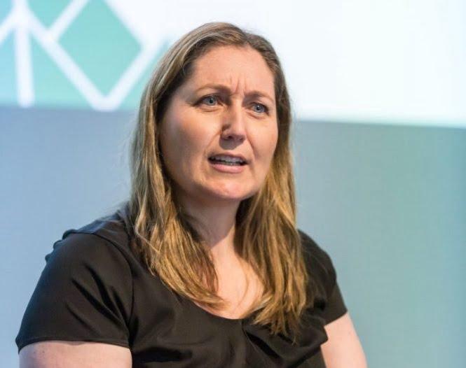Emma McBride addresses delegates at MM2017.