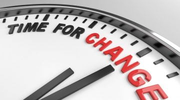 time for change clock