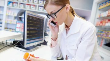 pharmacist phone query script refuse supply