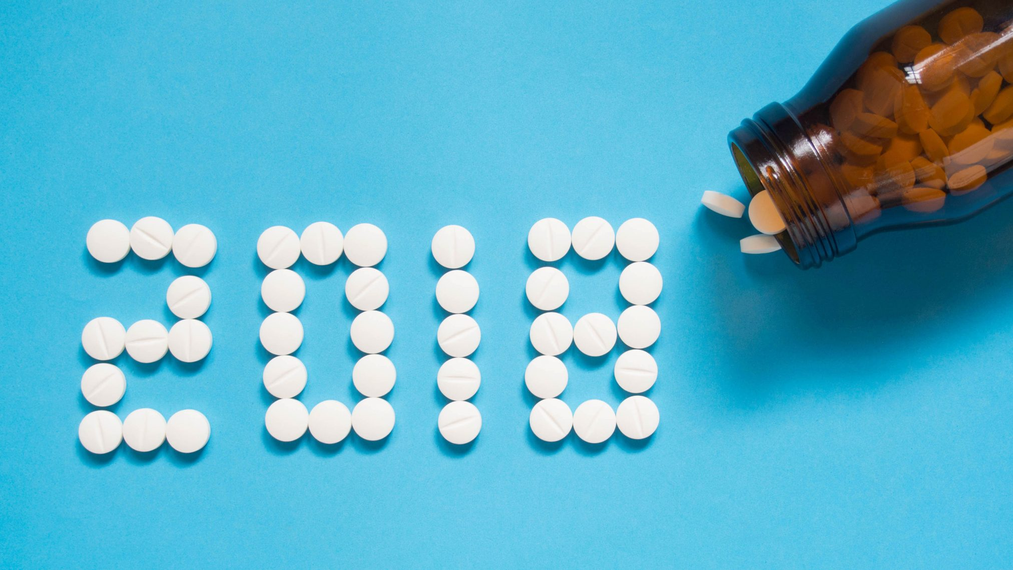 medicines 2018 statistics number