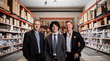 Michael Gray, Director, John Kardis, Director, Stephen Kastrinakis, CEO, Advantage Pharmacy