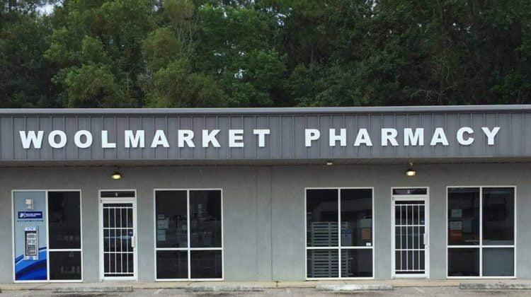 Woolmarket Pharmacy, Biloxi, MS. Image: Woolmarket Pharmacy