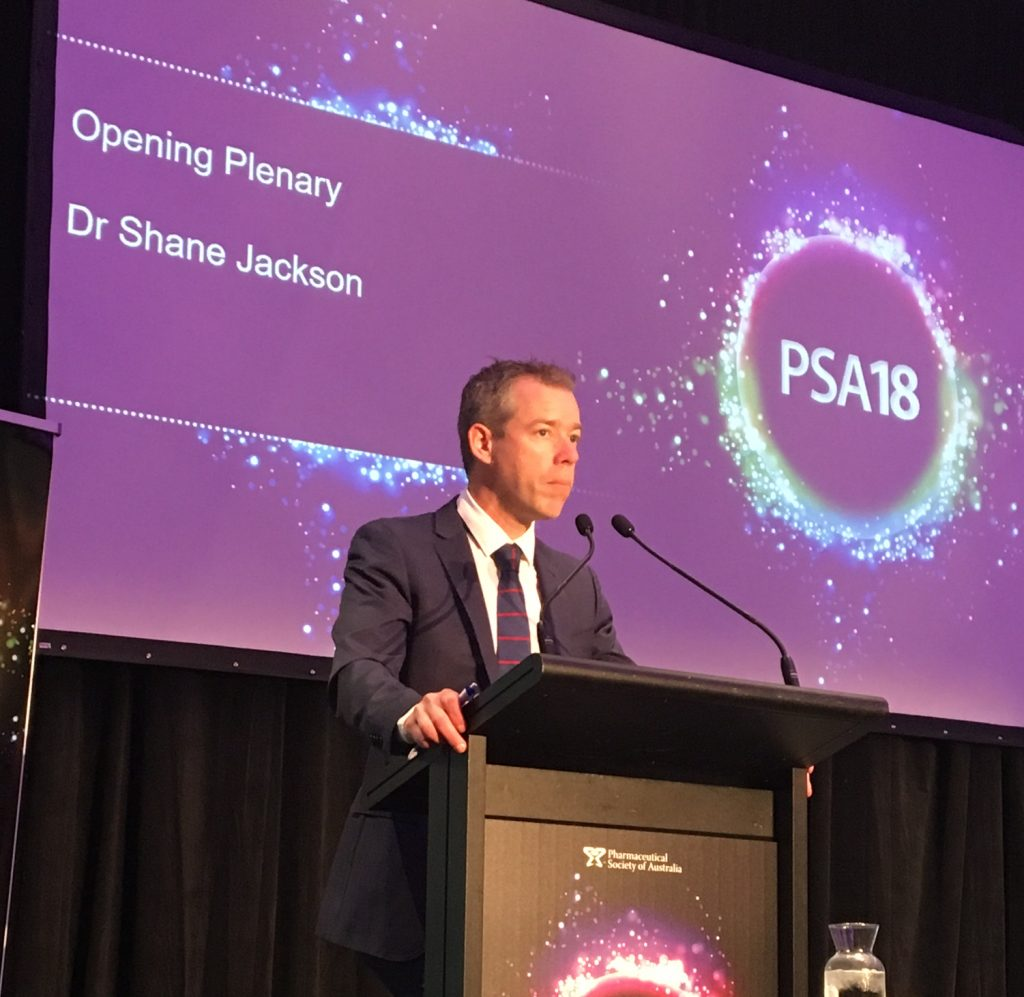 Dr Jackson discusses the future at PSA18.