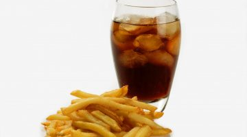 coke and fries