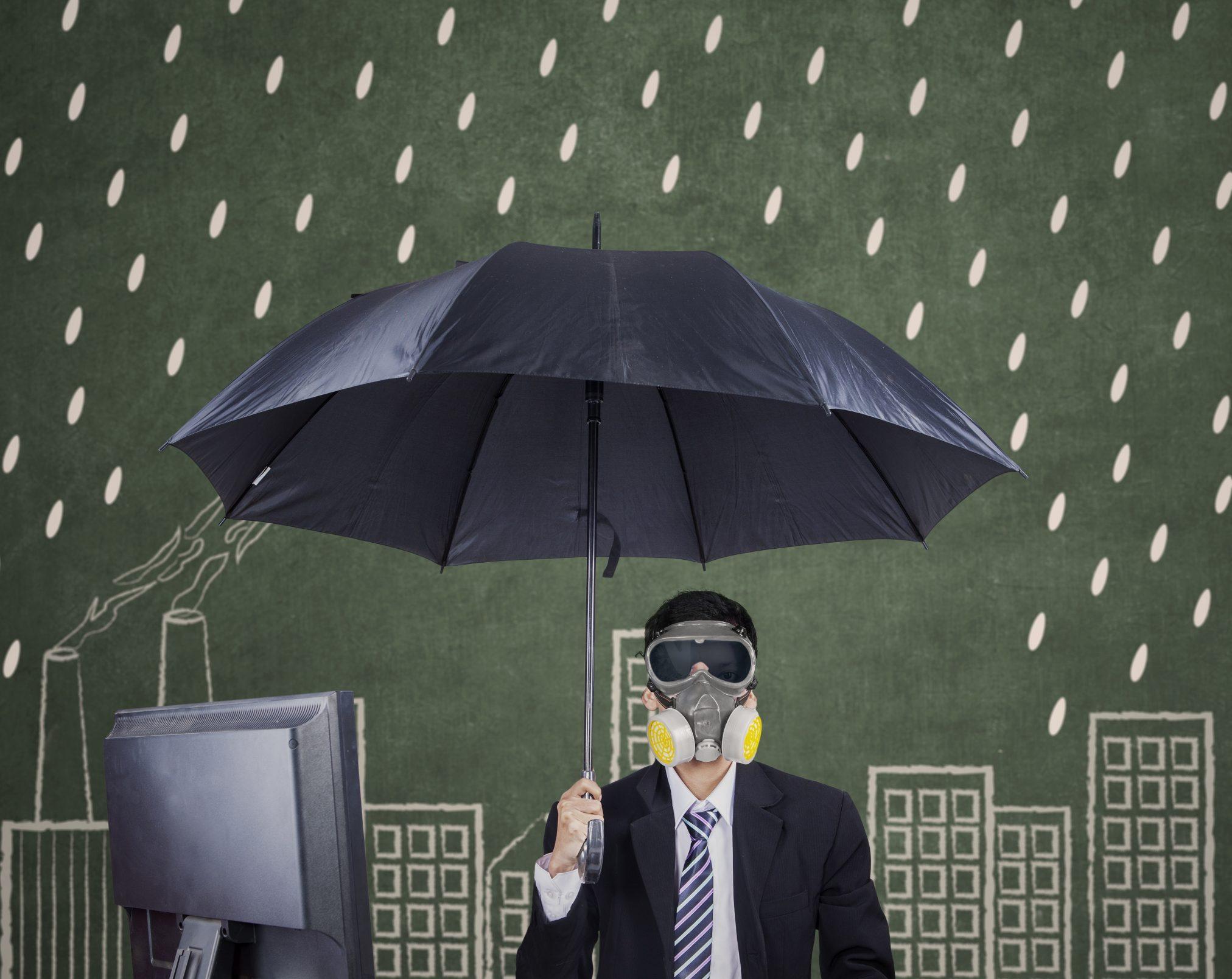 toxic workplace rain