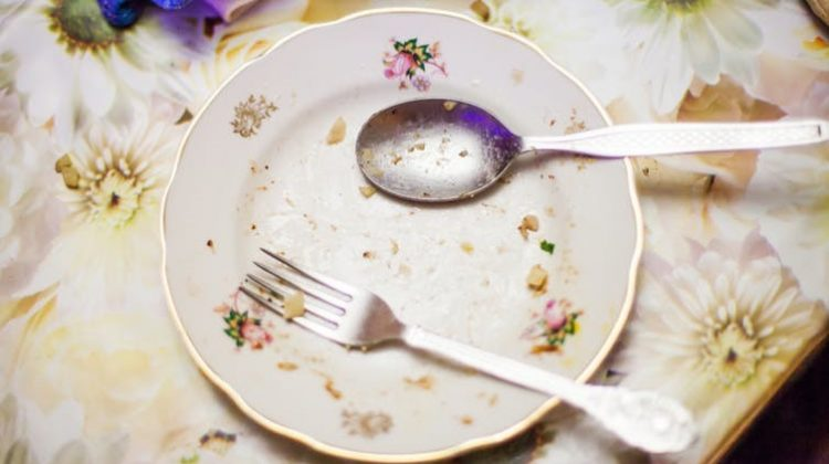 Before you go for seconds after your meal, have a glass of water and wait five minutes before checking in with your hunger again. from www.shutterstock.com