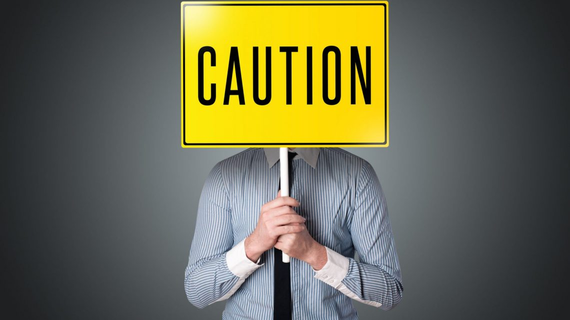 caution warning danger sign