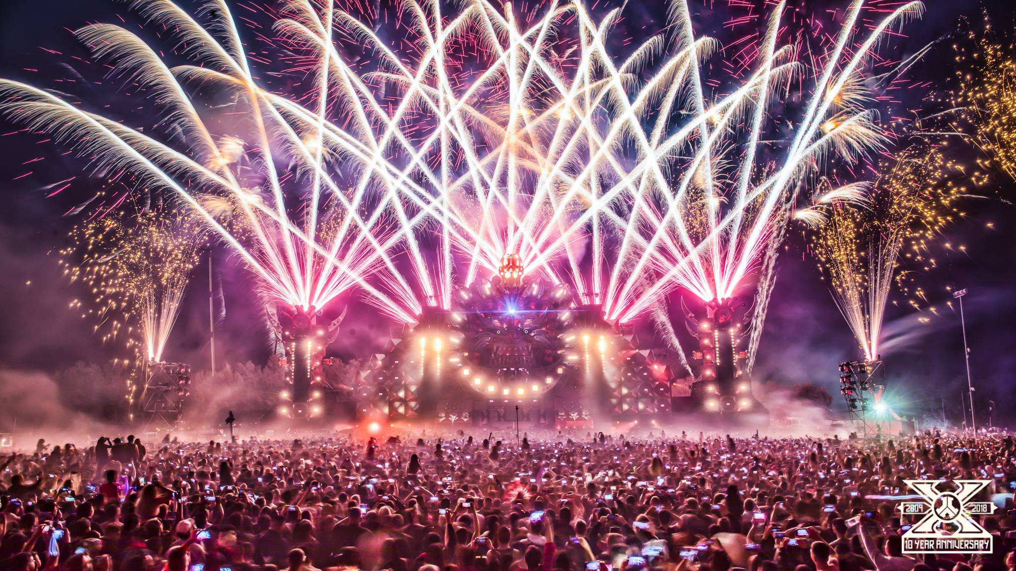 The Defqon. 1 event in Sydney. Image: Defqon. 1 via Facebook.