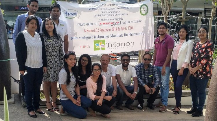 The Pharmaceutical Association of Mauritius held a health day at the Trianon Shopping Centre