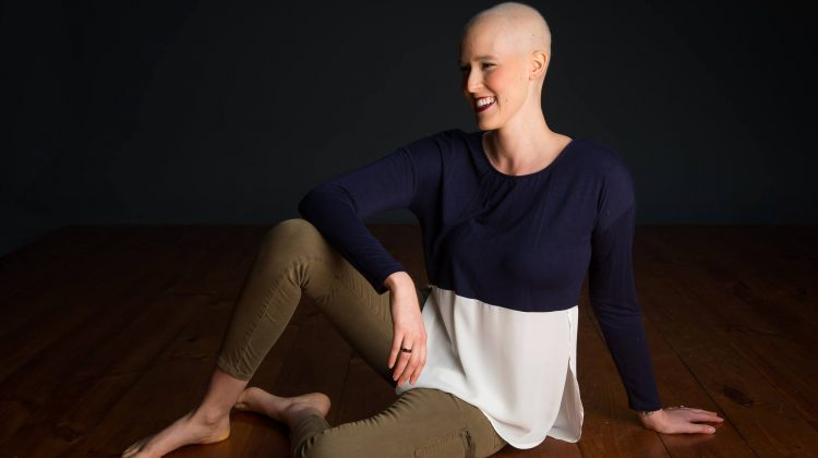 Jessica Chapman-Goetz documents her experience with breast cancer. Image: Supplied.
