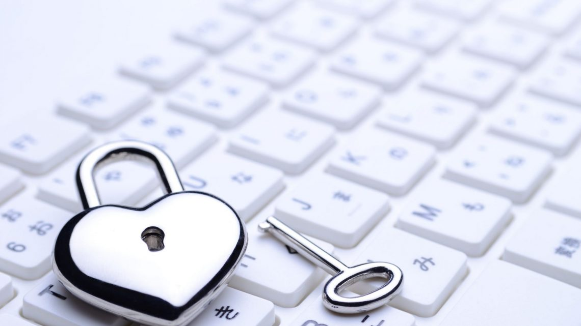 heart lock keyboard online dating scam digital technology