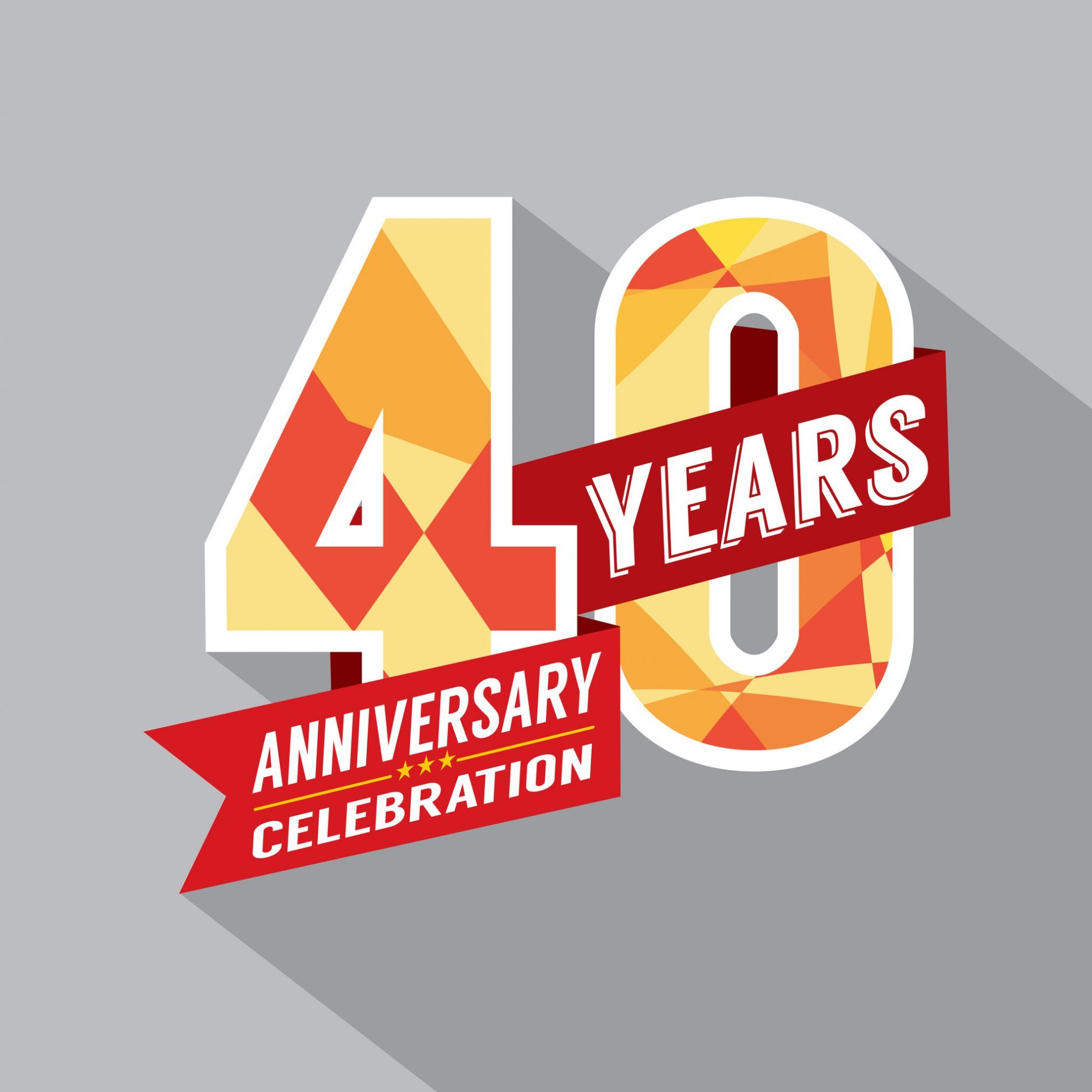 40 years anniversary celebration