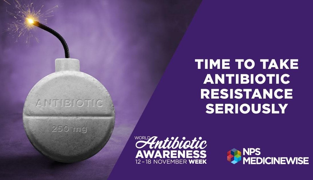This week is Antibiotic Awareness Week