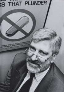 Dr Ken Harvey from The Royal Melbourne Hospital at the time. Credit: Therapeutic Guidelines. https://historytimeline.tg.org.au/