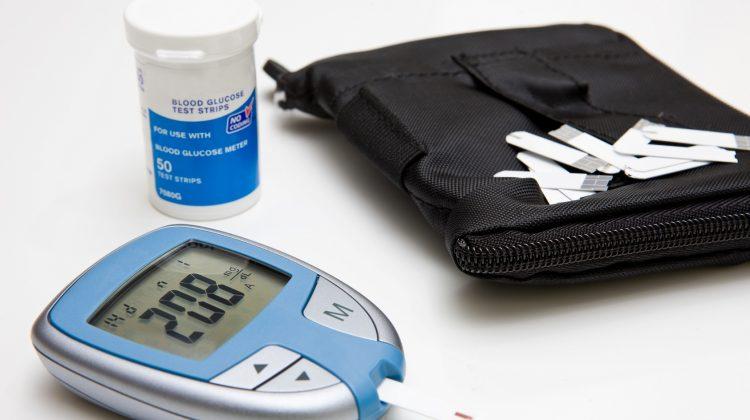 blood glucose meter testing strip test diabetes