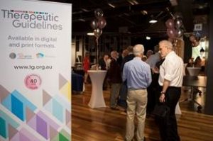 Therapeutic Guidelines held an event to celebrate 40 years of Antibiotic Guidelines.