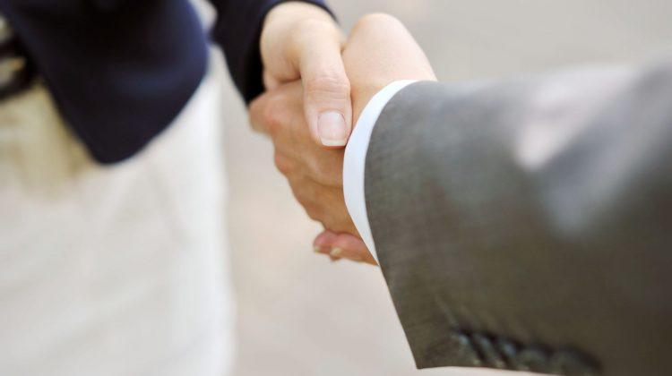 shaking hands handshake business deal partnership