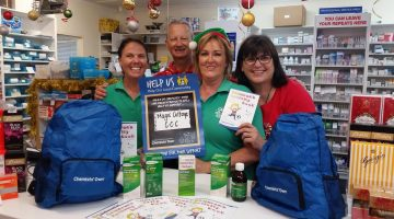 Rangeway Guardian Pharmacy in WA, whose local childcare centre is Magic Cottage Child Care Centre.