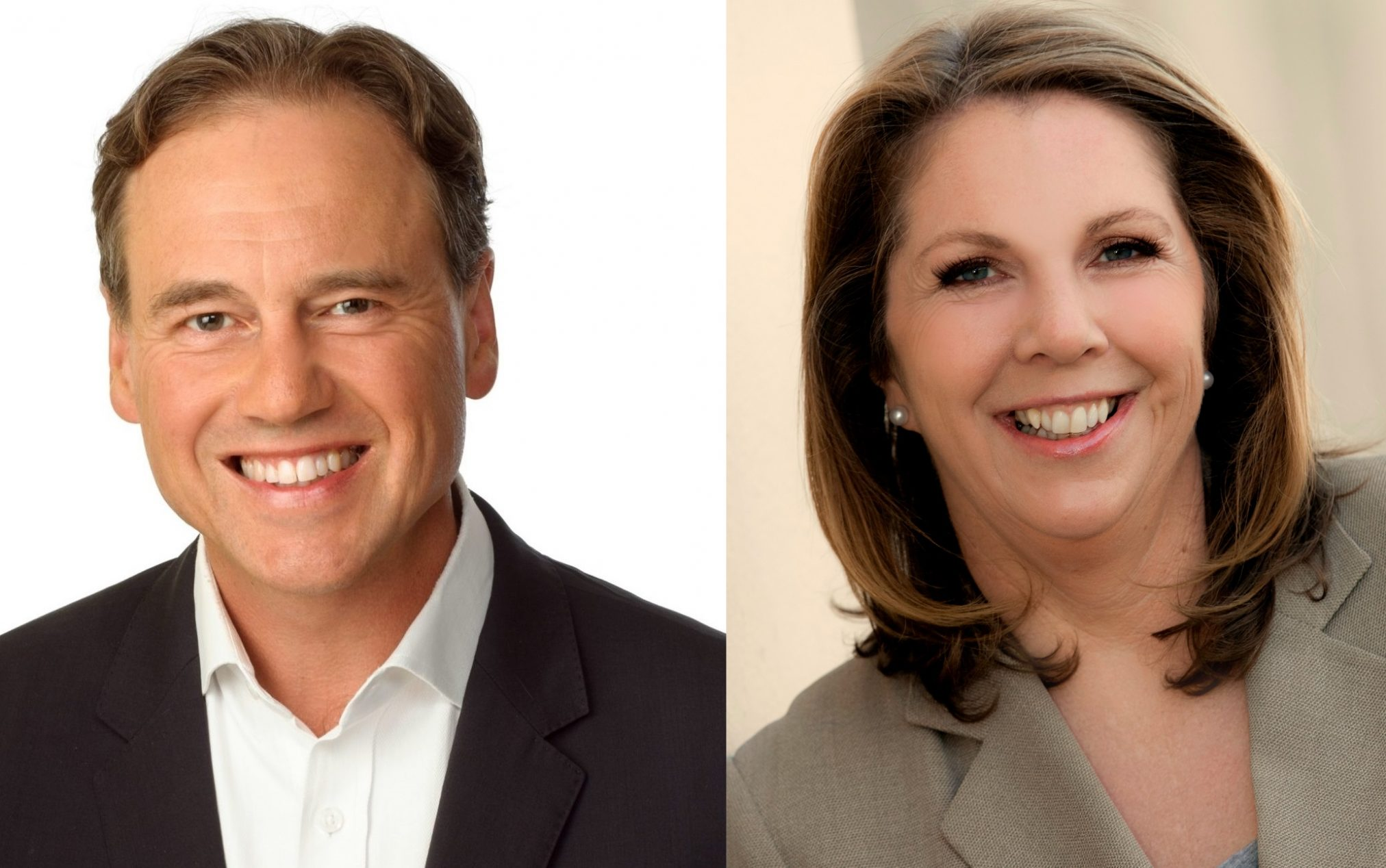 Health Minister Greg Hunt (left) and Opposition Health Minister Catherine King (right).