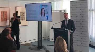 Greg Hunt speaks at the launch of Pharmacists in 2023
