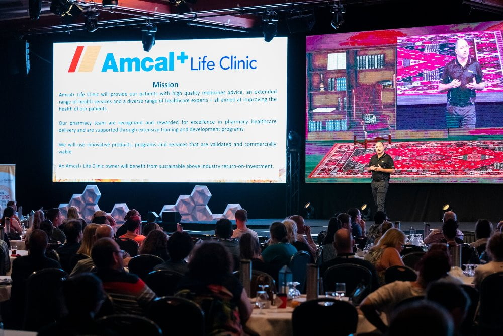 David Preston unveils Amcal+ Life Clinic