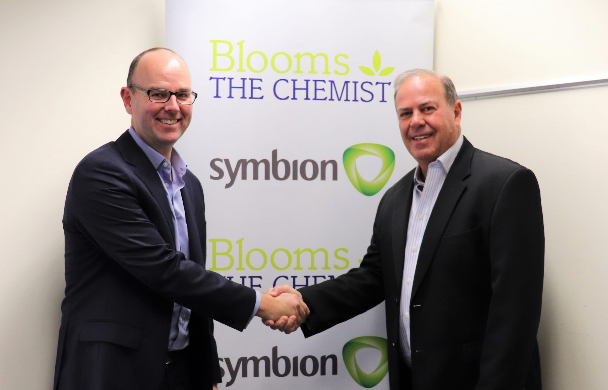 Brett Barons (Symbion CEO) and Phil Smith (Blooms CEO)
