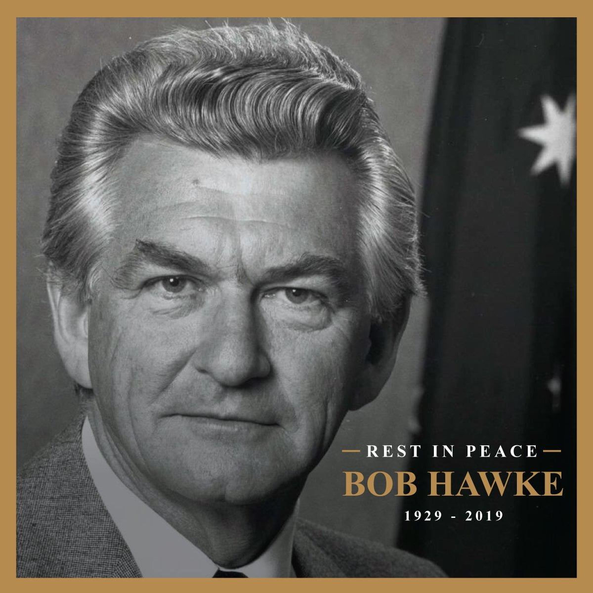 Bob Hawke. Image courtesy Labor.