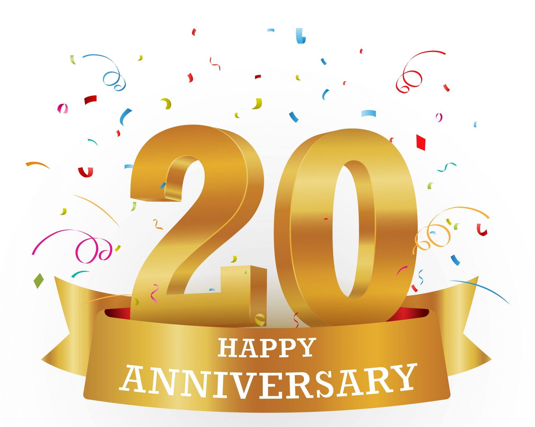 20 years anniversary celebration