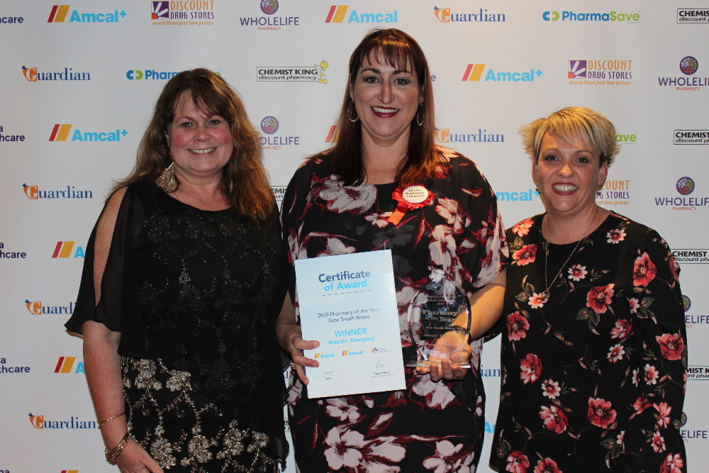 Amcal Pharmacy of the Year Kempsey