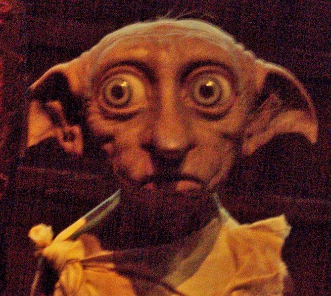 Dobby the House elf. Image: Wikimedia Commons.